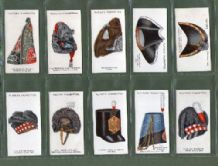 Tobacco Cigarette cards Military Head-dress 1931 set